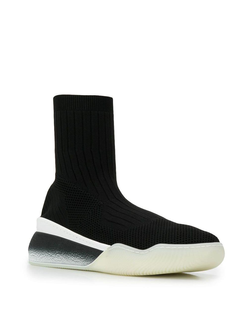 Zapatillas de punto Alta Stella McCartney de color Negro