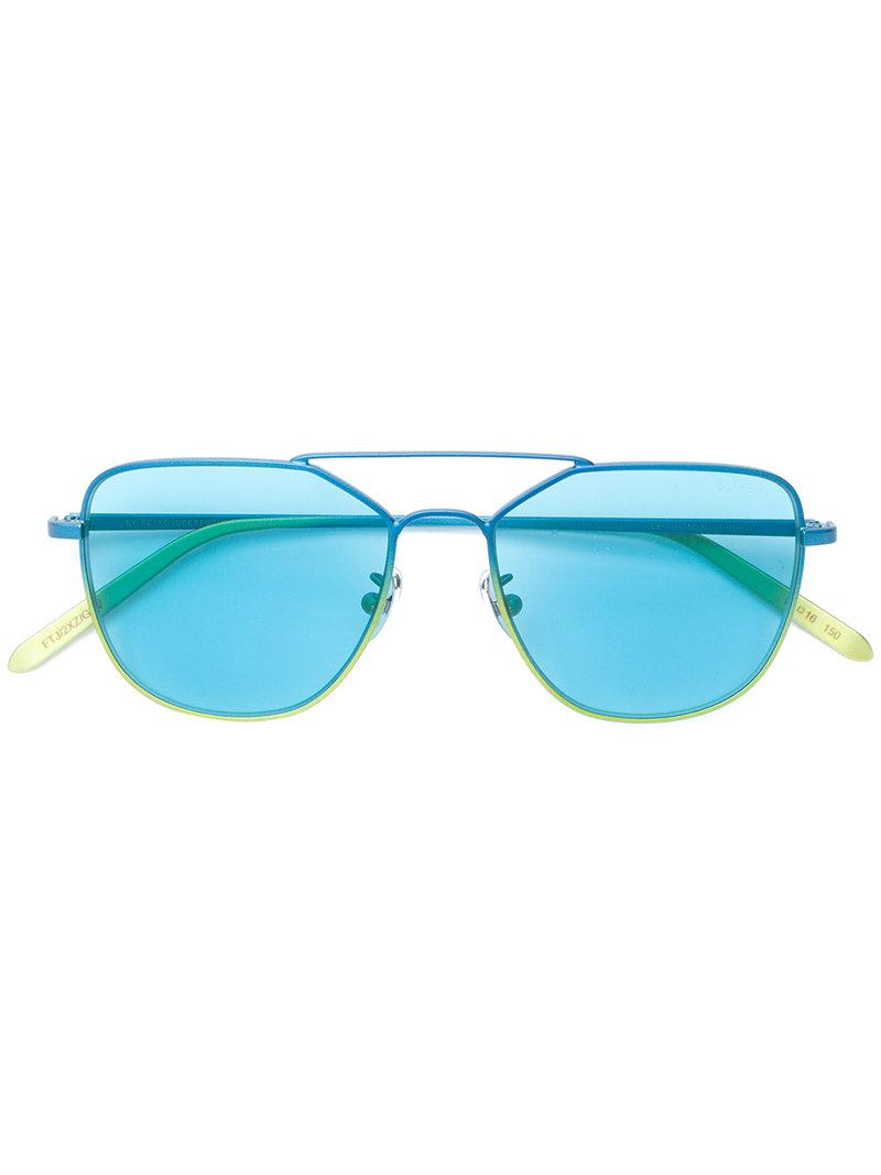 fe05a4f1b3e1 Retrosuperfuture - Blue X I Visionari Daze Sunglasses - Lyst. View  fullscreen