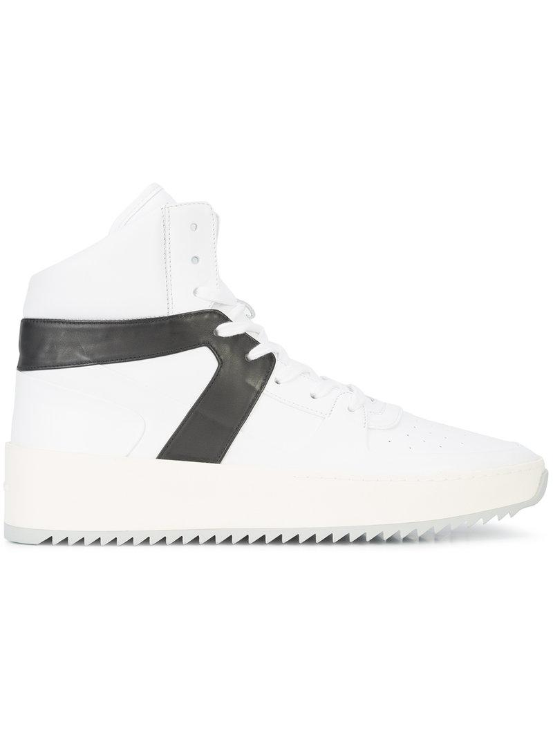 Fear Of God contrast panel hi-top sneakers new for sale best place for sale sale reliable free shipping under $60 GmRzJ19
