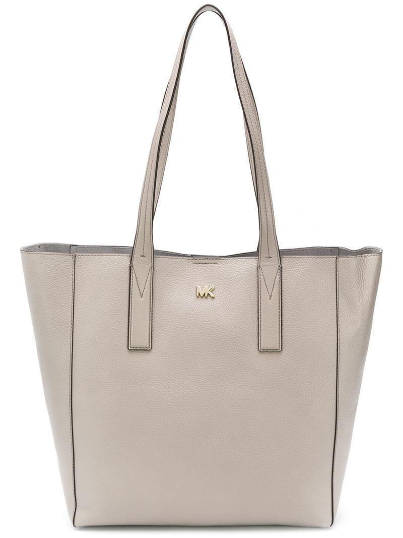 MICHAEL Michael Kors Junie Tote Bag in Gray - Lyst f378acf6504a5
