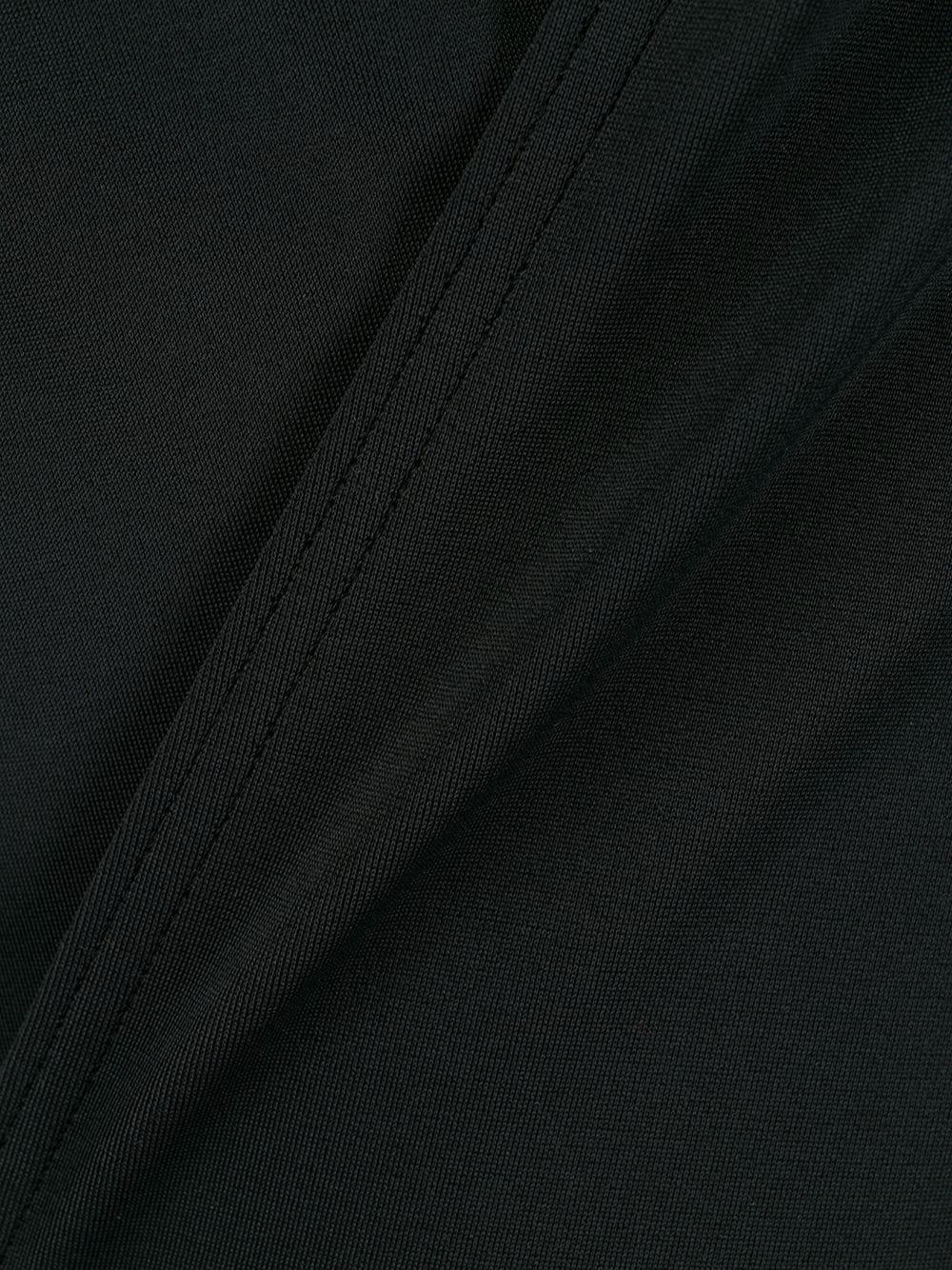 Bañador cruzado con botones decorativos Balmain de Tejido sintético de color Negro