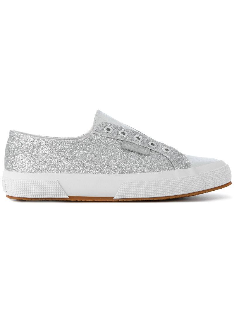 Chaussures De Paillettes Métalliques Noires iNLF5wL0NV