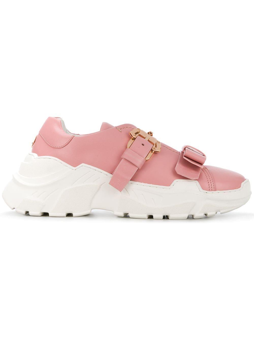 In 'yokoo' Schnalle Mit Damen Sneakers Pink WEI2DH9Y