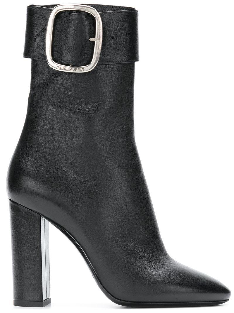 Saint Laurent Joplin 105 Suede Ankle Boot 9LS2OVr