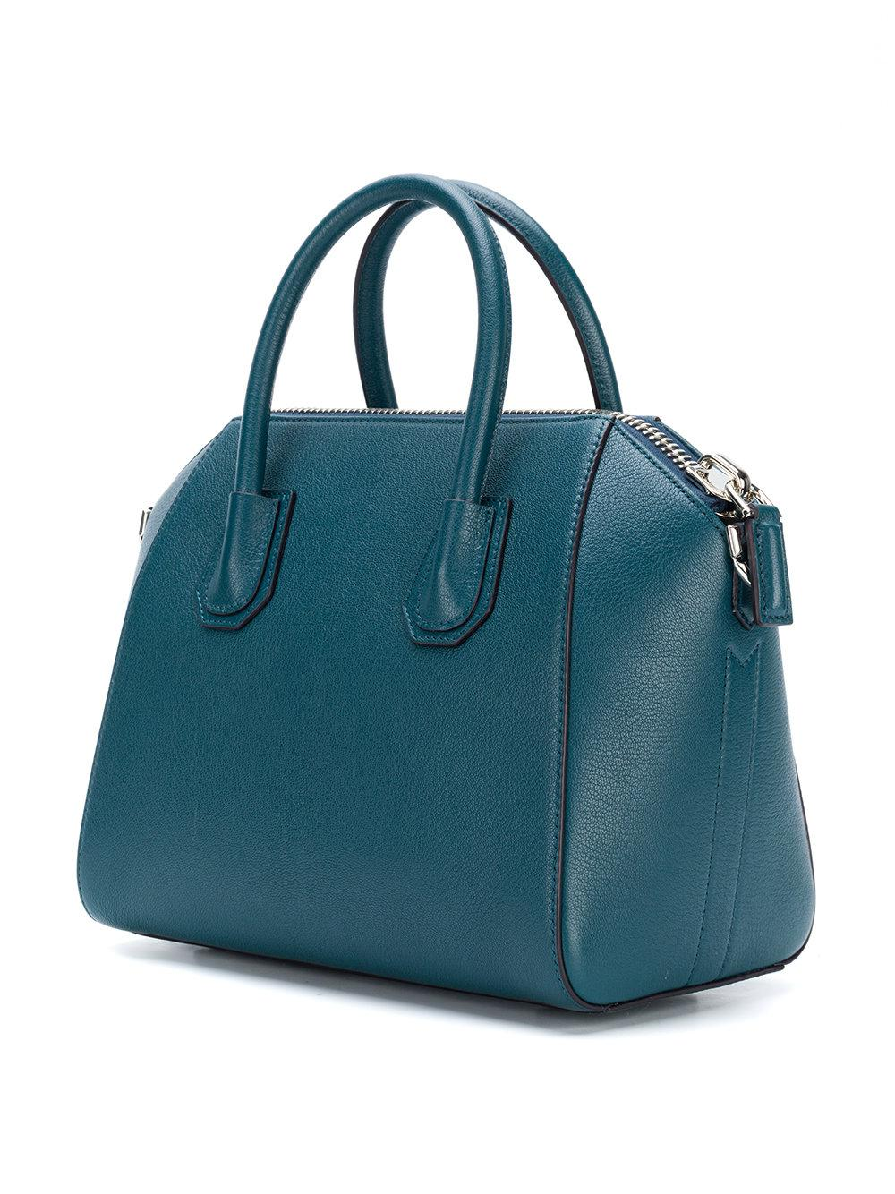 Givenchy Leather Antigona Tote in Blue