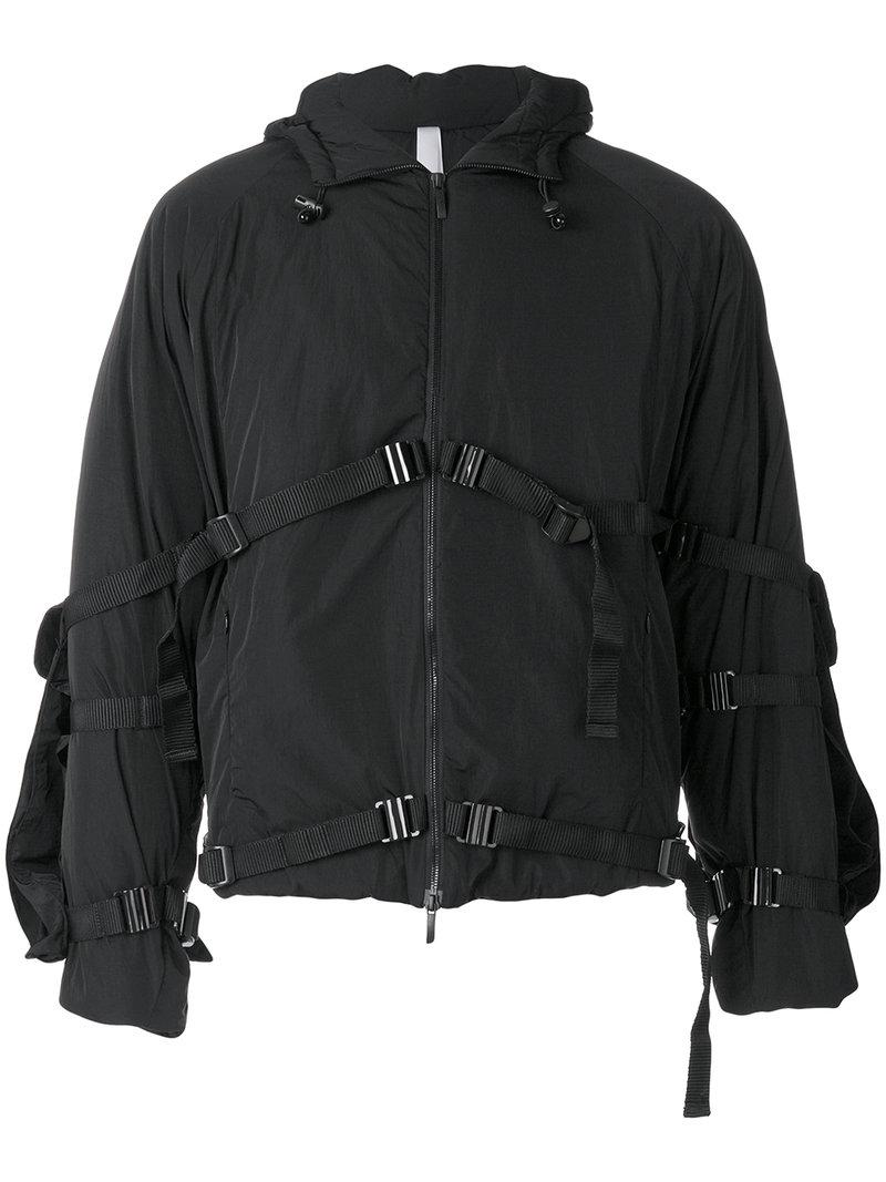 Barbour Sapper Jacket >> Cottweiler Synthetic Strap Buckle Jacket in Black for Men - Lyst