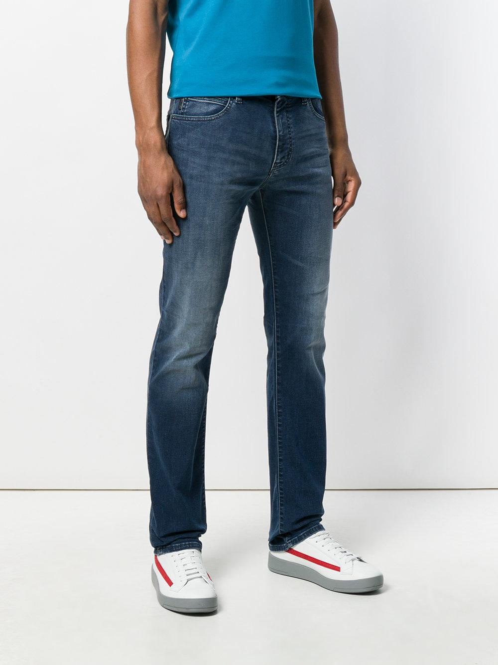 mid-rise straight-leg jeans - Blue Emporio Armani trEYh4g3W