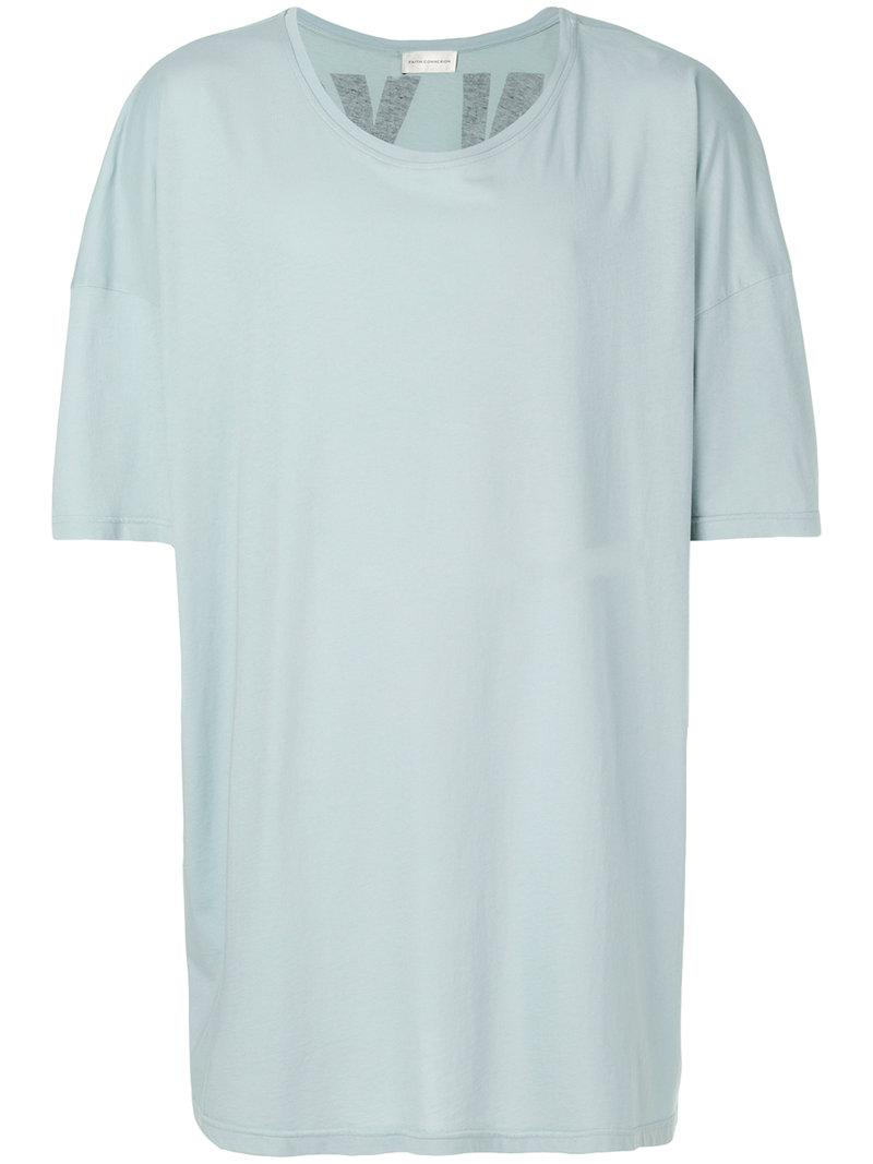 oversized plain T-shirt - White Faith Connexion How Much Cheap Price Low Shipping Fee Buy Cheap Footaction Latest Collections Sale Online Inexpensive Sale Online OK1N72