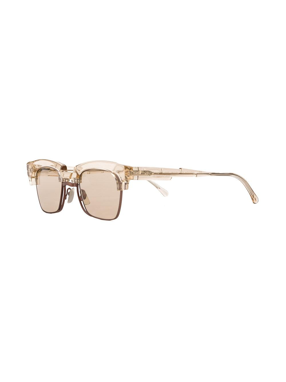 Kuboraum Square Framed Sunglasses in Brown