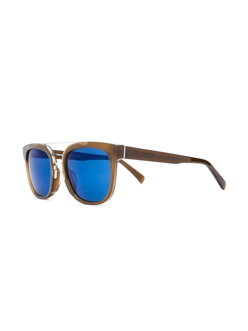 Retrosuperfuture 'akin' Sunglasses in Brown