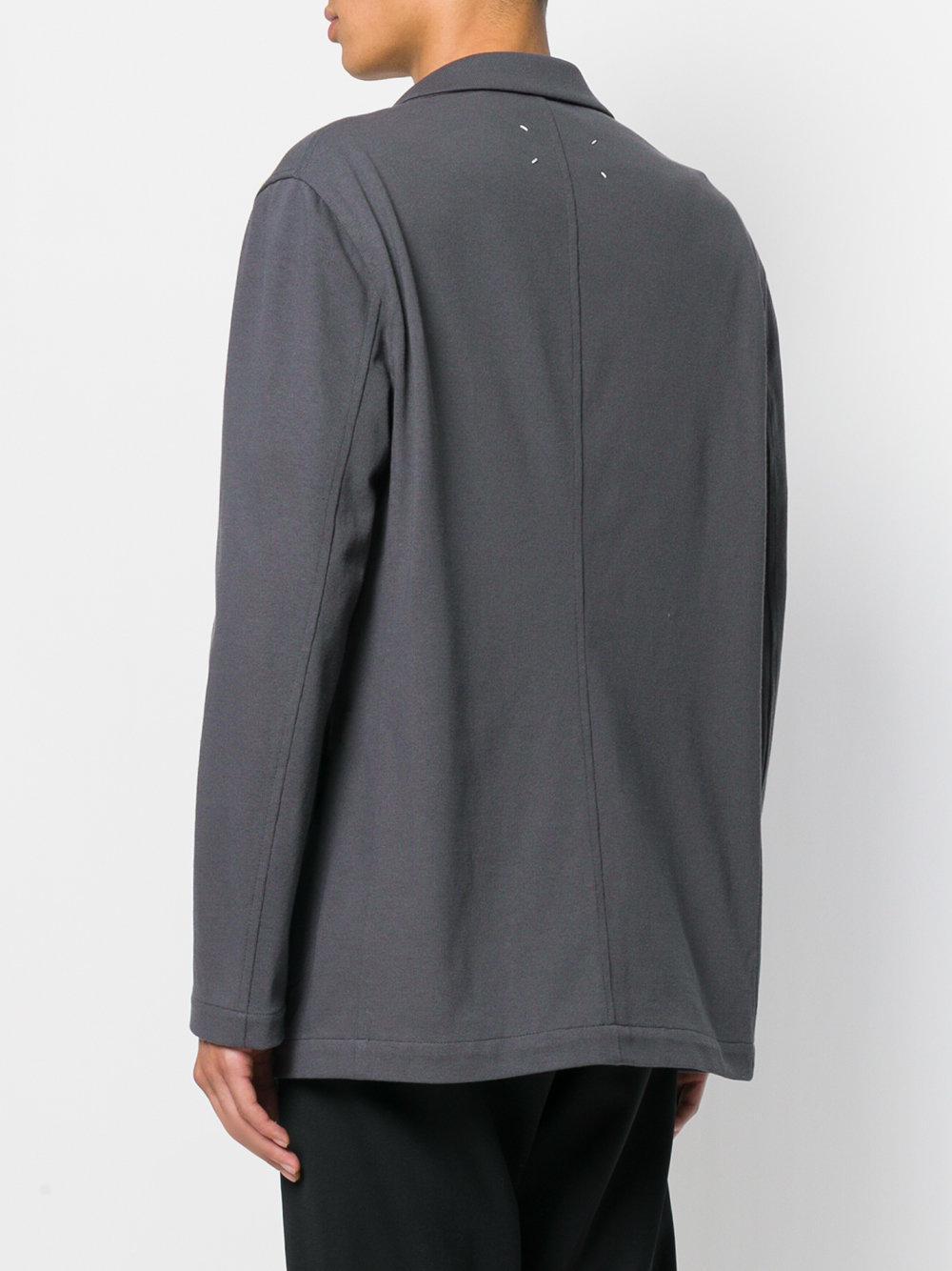 Maison Margiela Cotton Relaxed Blazer Jacket in Grey (Grey) for Men