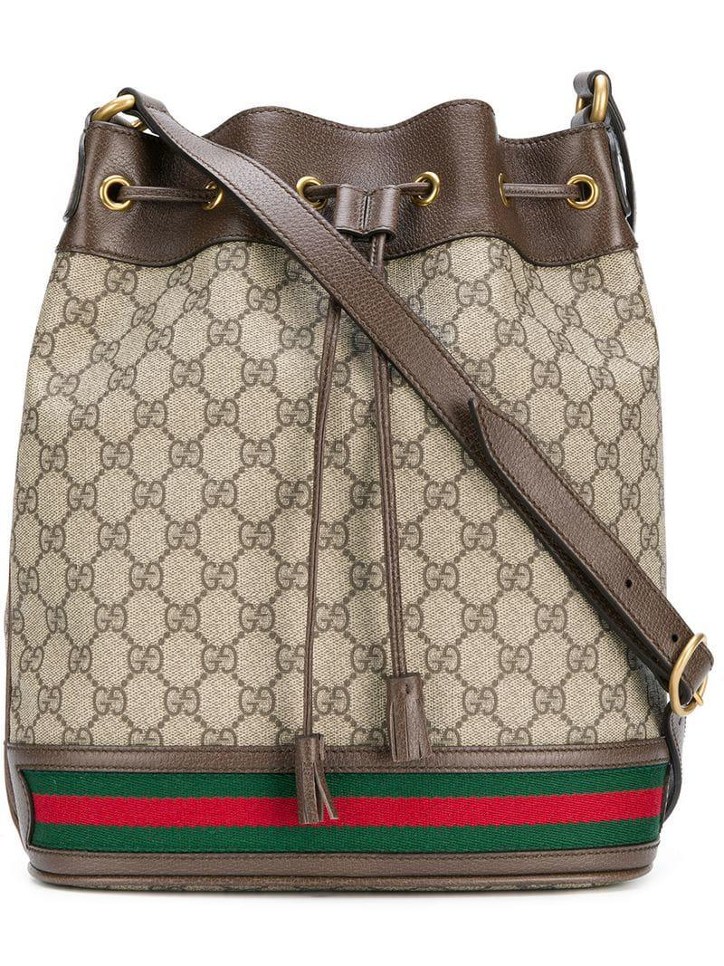 ad53cafdf3d Gucci Ophidia Gg Bucket Bag for Men - Lyst