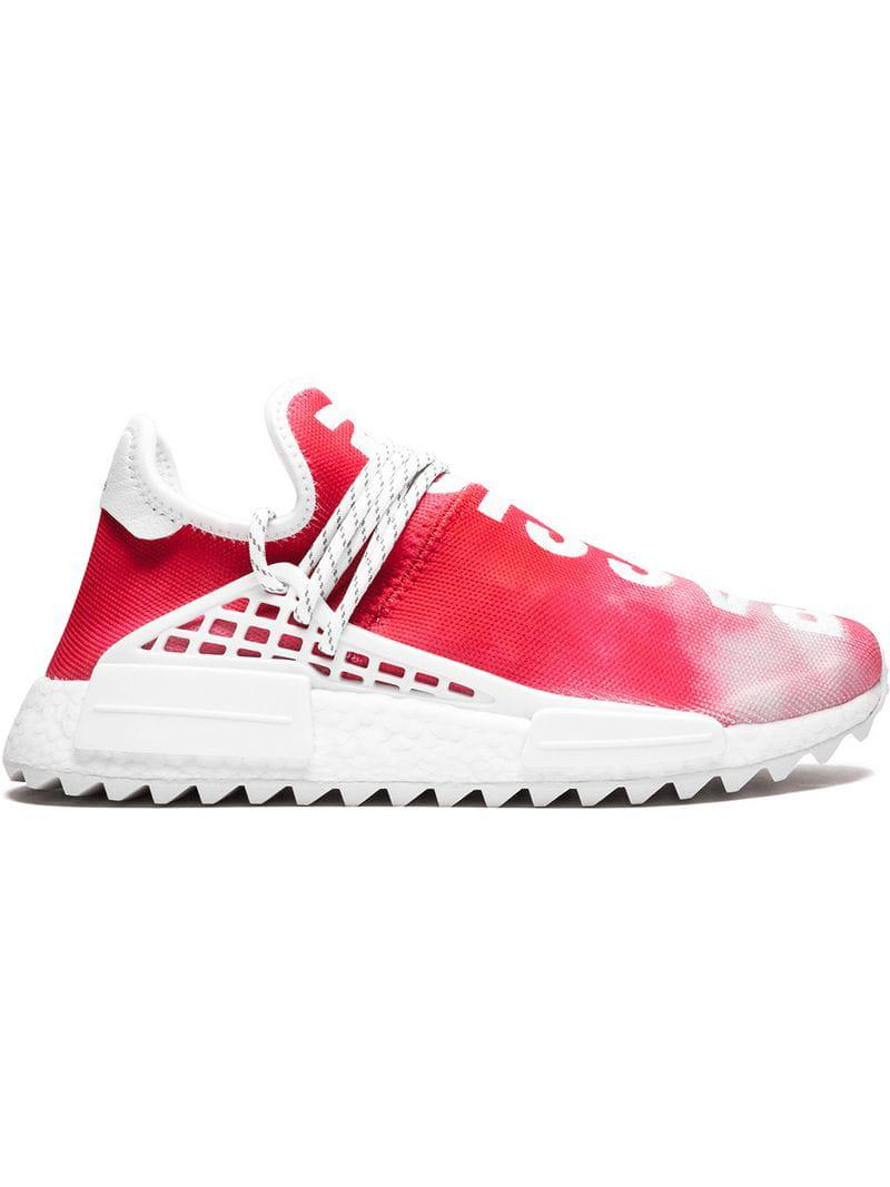 2f2a0218ea216 Adidas Originals Pw Hu Holi Nmd Mc Sneakers in Red for Men - Lyst
