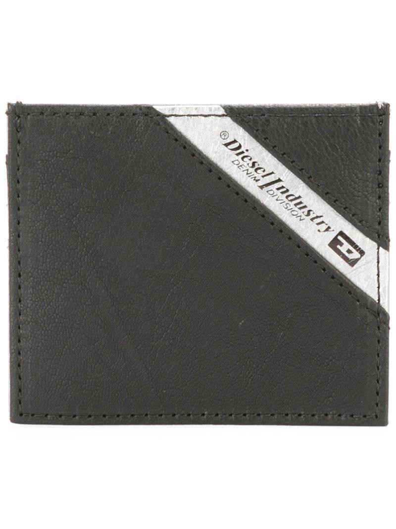 Lyst Diesel Johnas Wallet In Metallic