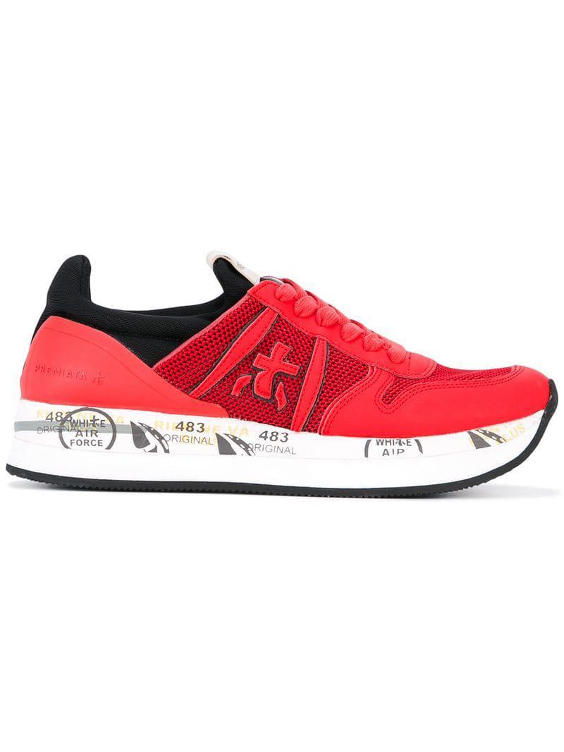 0f0f26372 premiata-Red-Liz-Var-Sneakers.jpeg