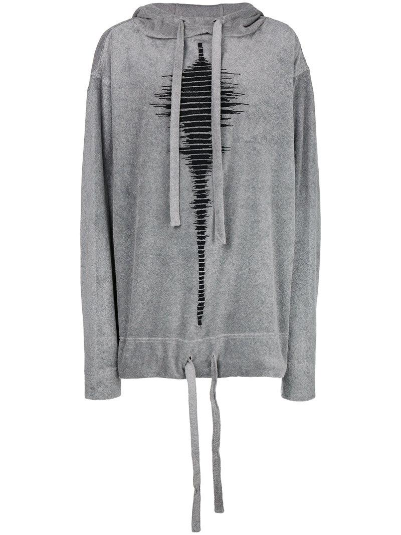 printed drawstring hoodie - Green Forcerepublik Good Selling Online Cheap Sale Ebay Buy Cheap Top Quality Clearance Lowest Price Clearance Clearance Store 9juEonK6RX