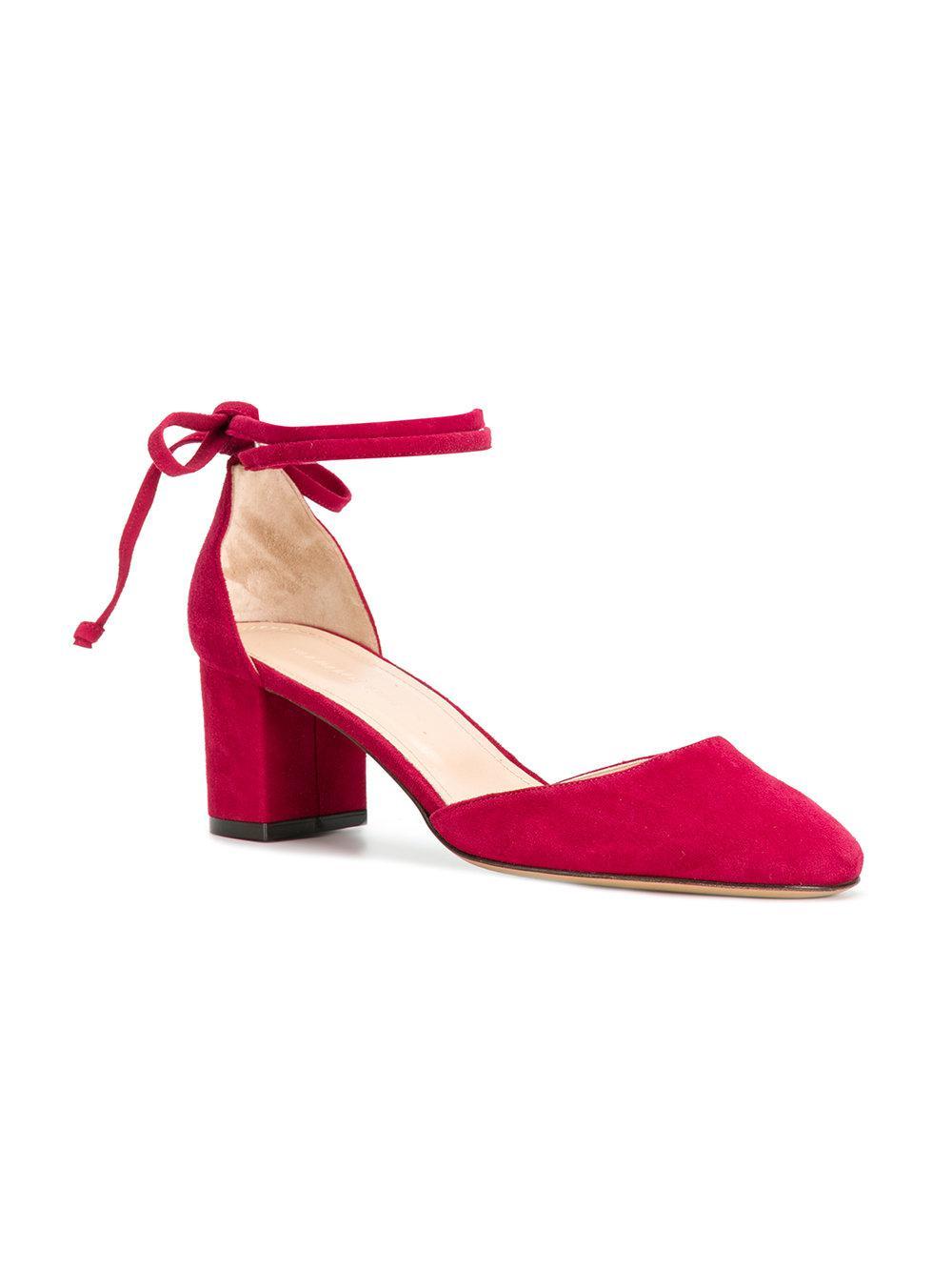 da63dbec4 Lyst - Tila March Ankle Tie Sandals in Pink
