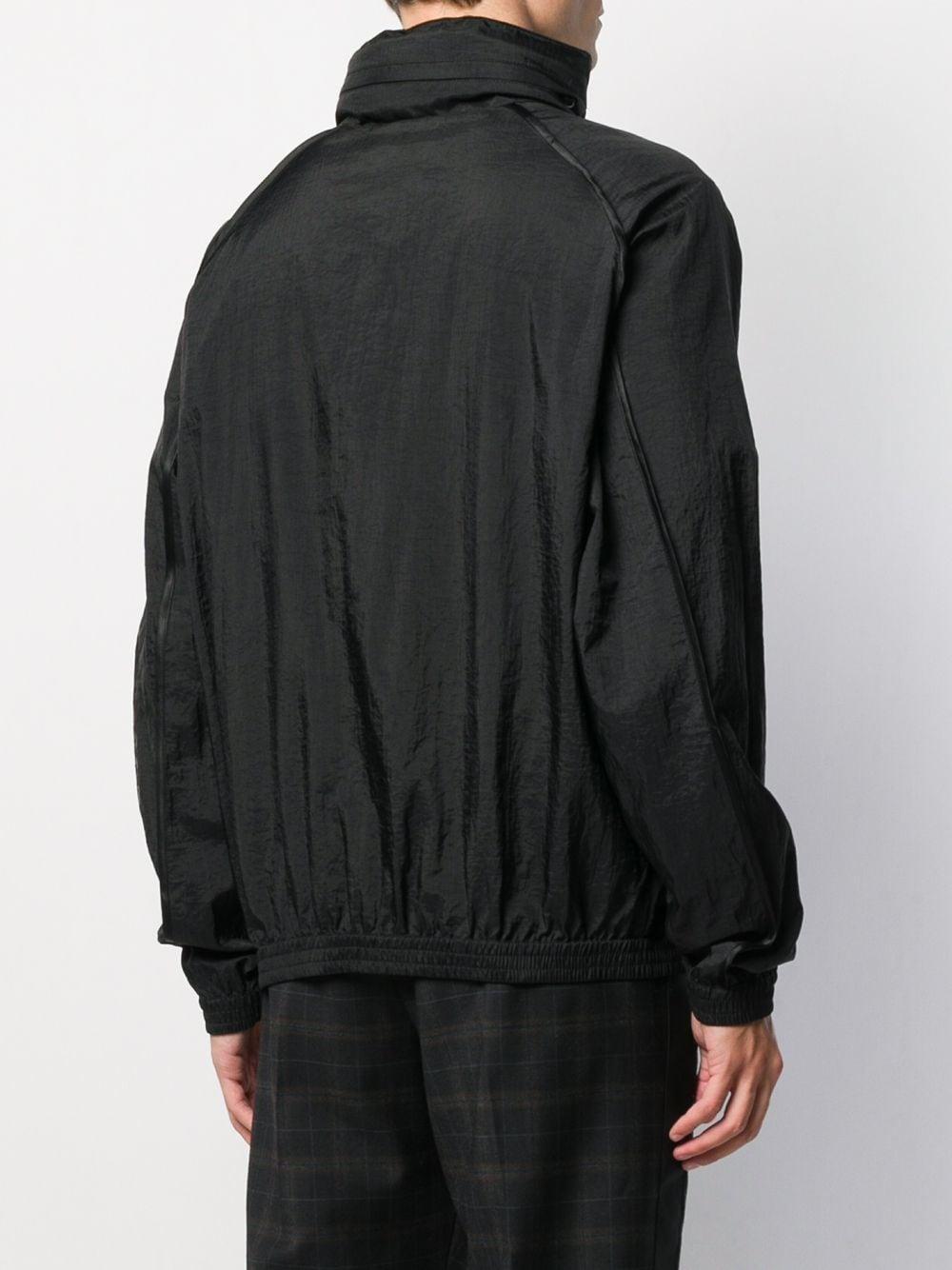 Versace Jeans Couture Katoen Jack Met Rits in het Zwart voor heren