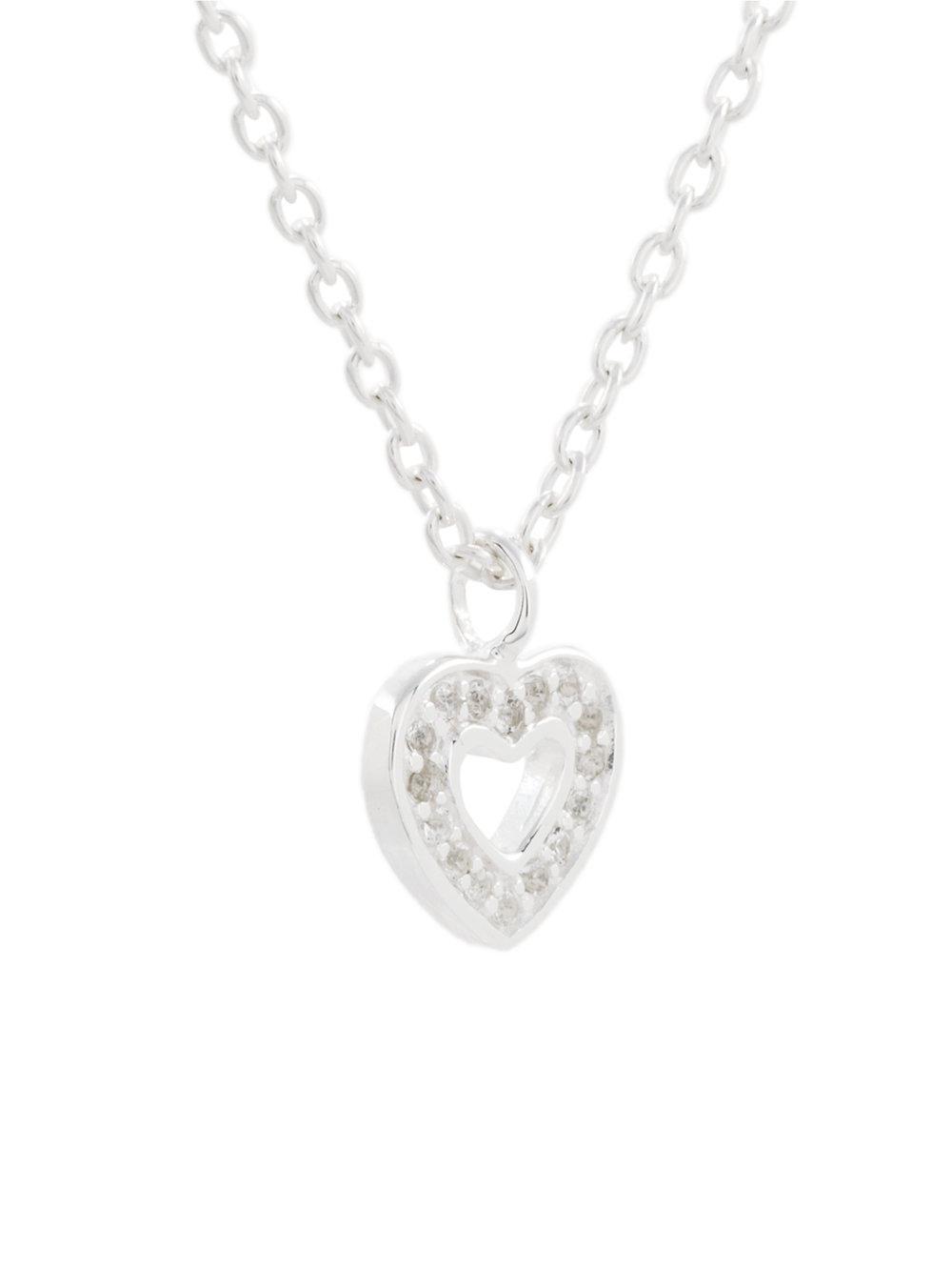 Astley Clarke 'mini Heart Biography' Pendant in Metallic