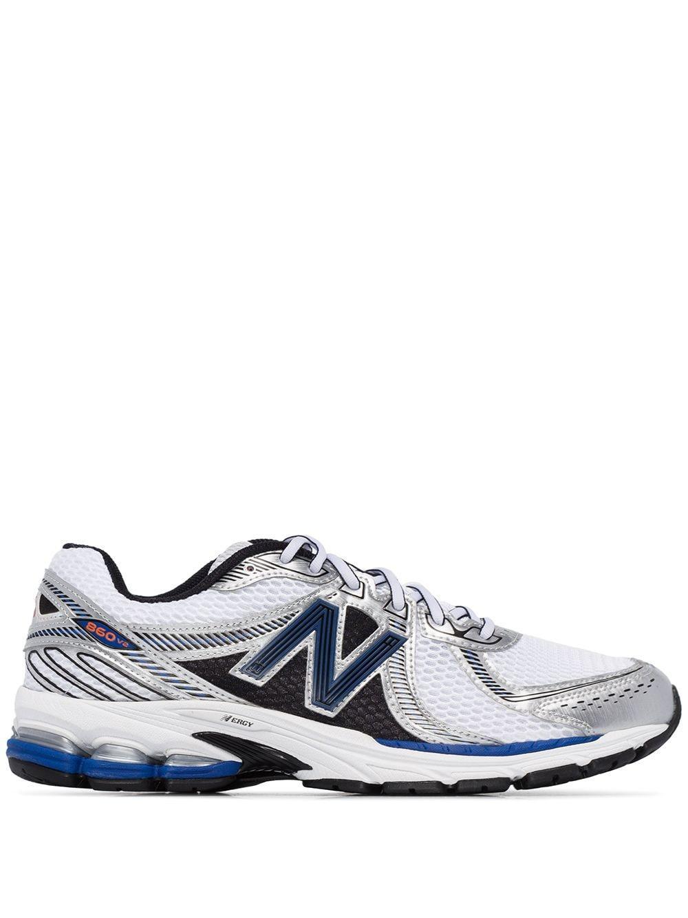 New Balance White 860 V2 Sneakers for Men - Lyst