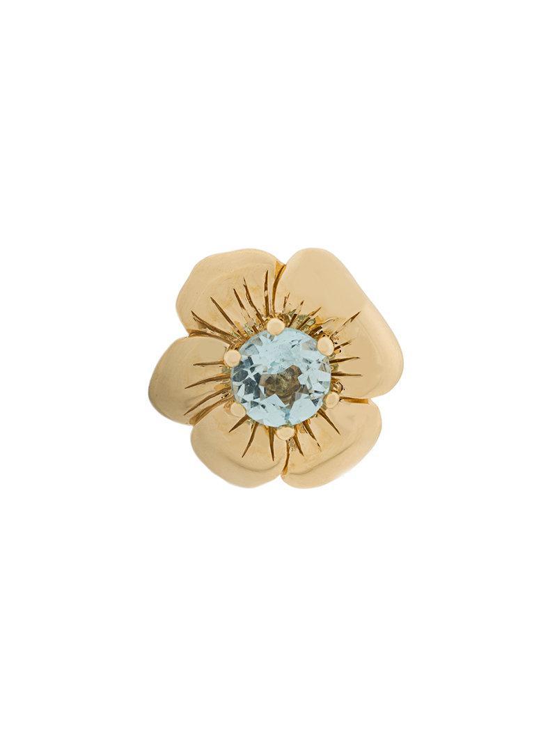 Aurélie Bidermann 18kt gold Bouquet earring - Metallic TCldaQ2