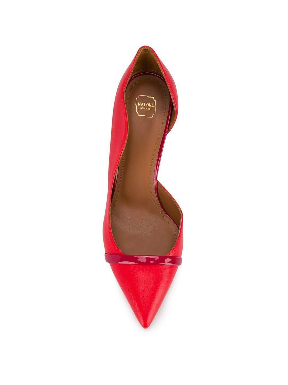 Zapatos de tacón Morissey Malone Souliers de Cuero de color Rojo