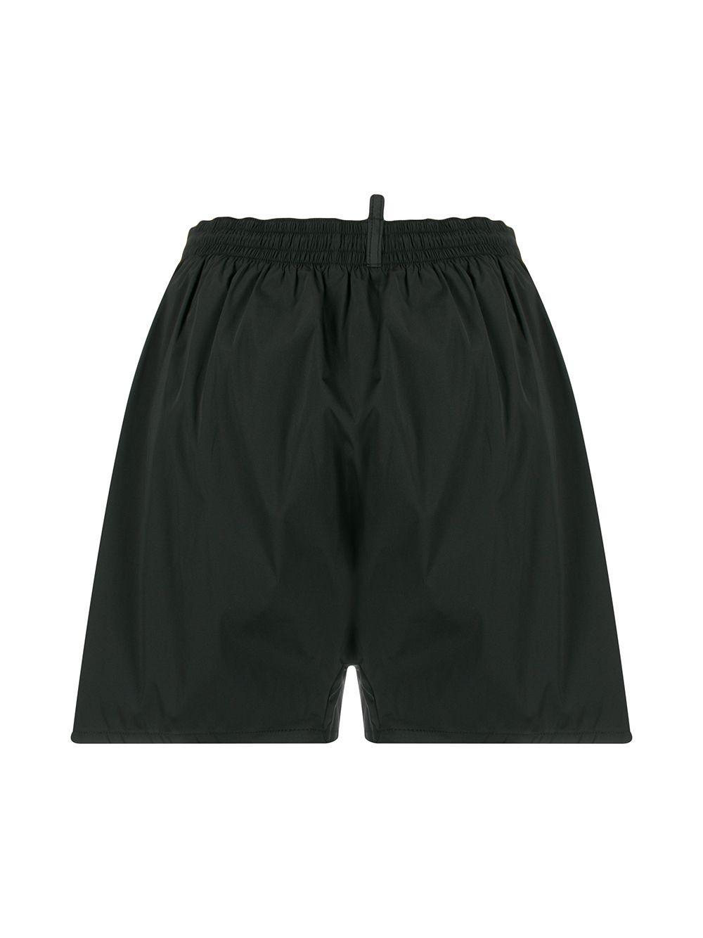 DSquared² Zwembroek Met Tijgerprint in het Zwart voor heren