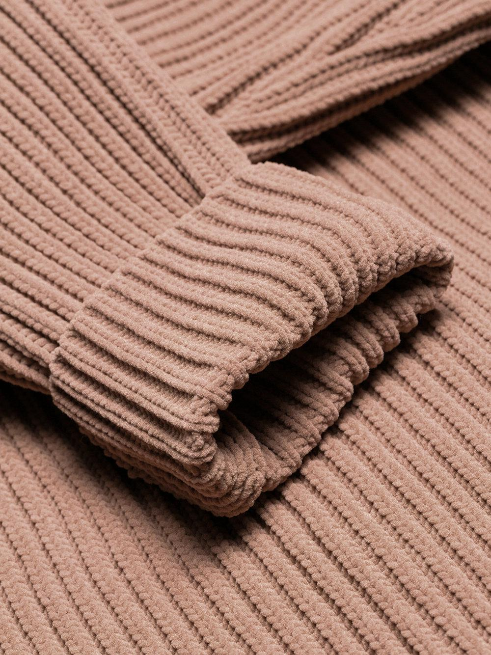 Maison Margiela For View Brown Fullscreen Sweater Longsleeved Men Lyst Zipped rrBZdq