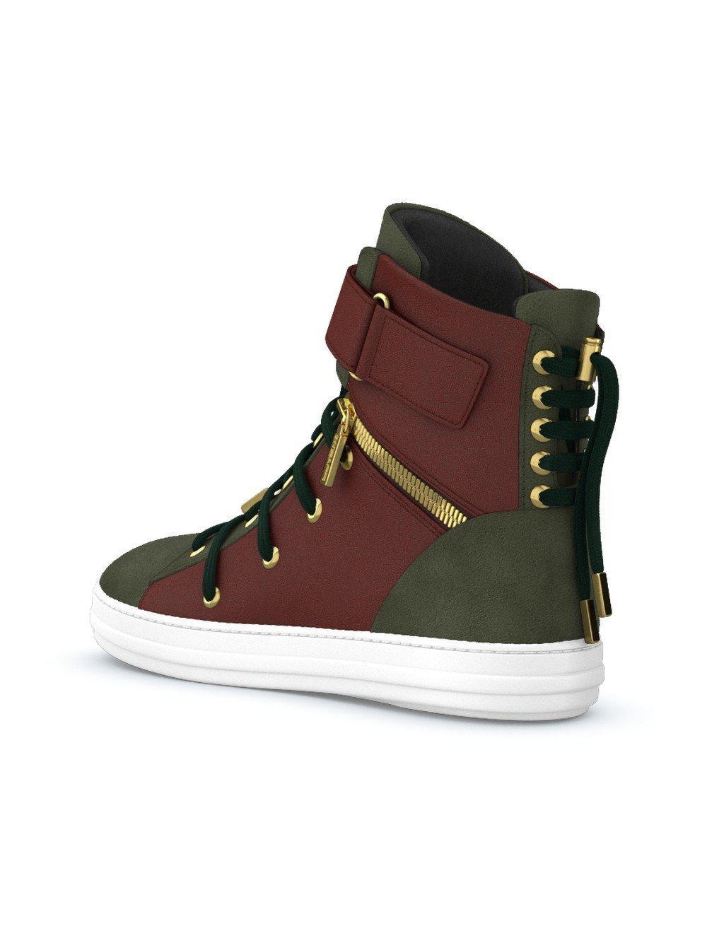 Swear Suede Regent Sneakers in Green
