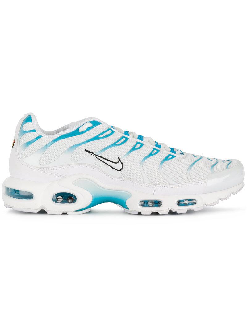 55d820e0eeb6 Lyst - Nike Air Max Plus Tn  blue Fury  Sneakers in White for Men