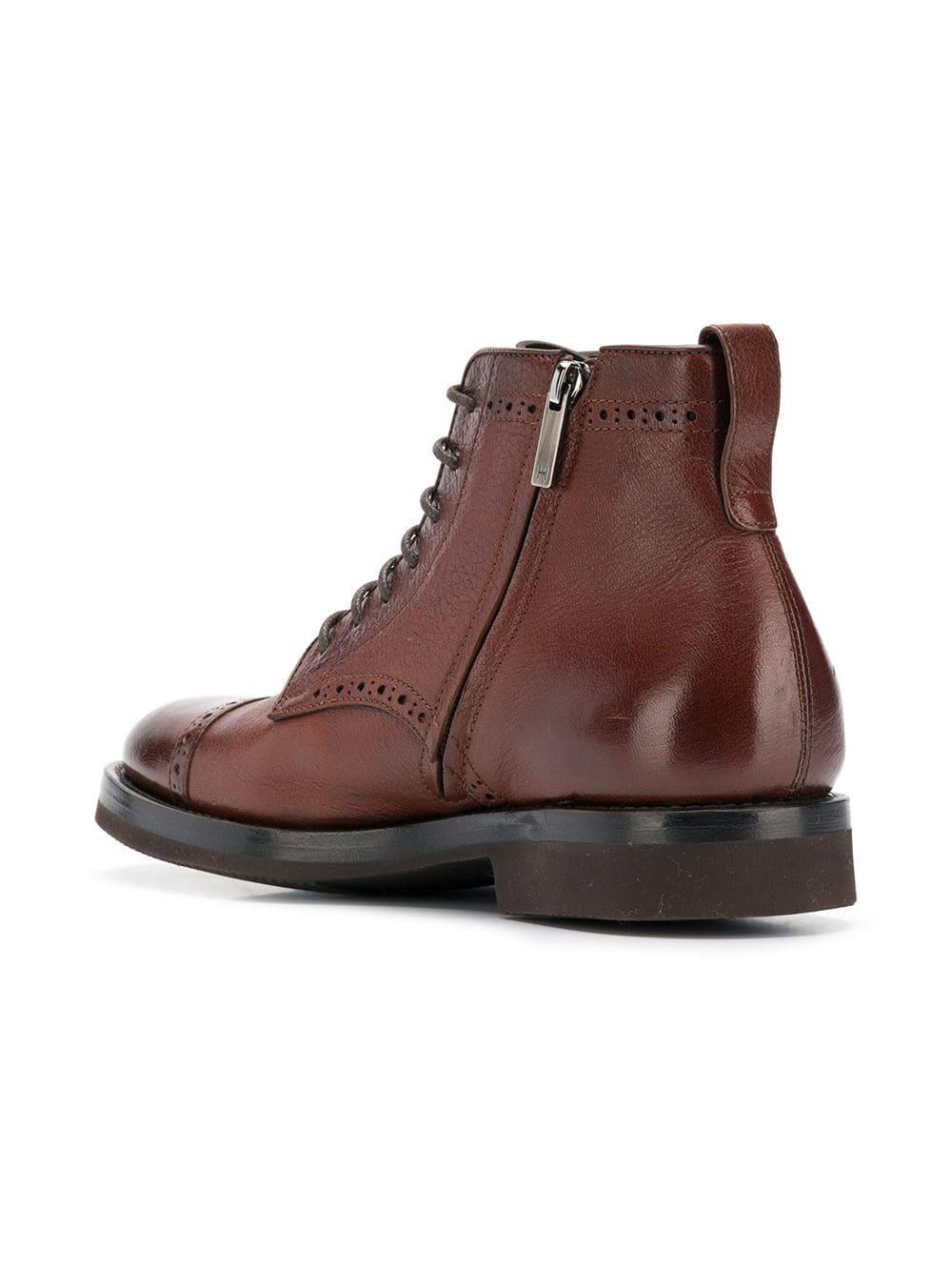 For Henderson In Up Boots Brown Lyst Men Ankle Lace qSUpLzGVjM