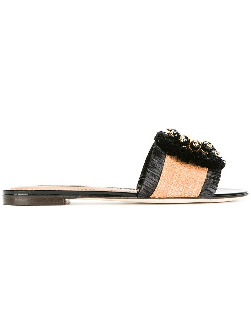 Dolce & Gabbana Sandales Tissées - Indisponible IHKVmU