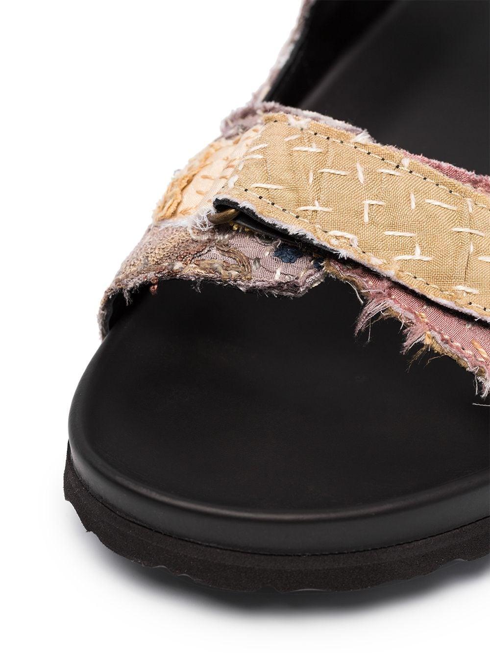 By Walid 19th Century Chinese Sandalen voor heren