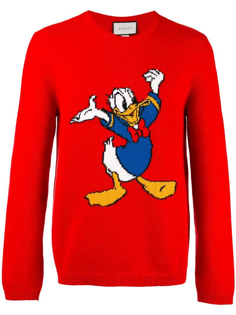 Unisexe Pull À Capuche Pull Cadeau Imprimé Mignon Donald Duck Classic Disney mascotte