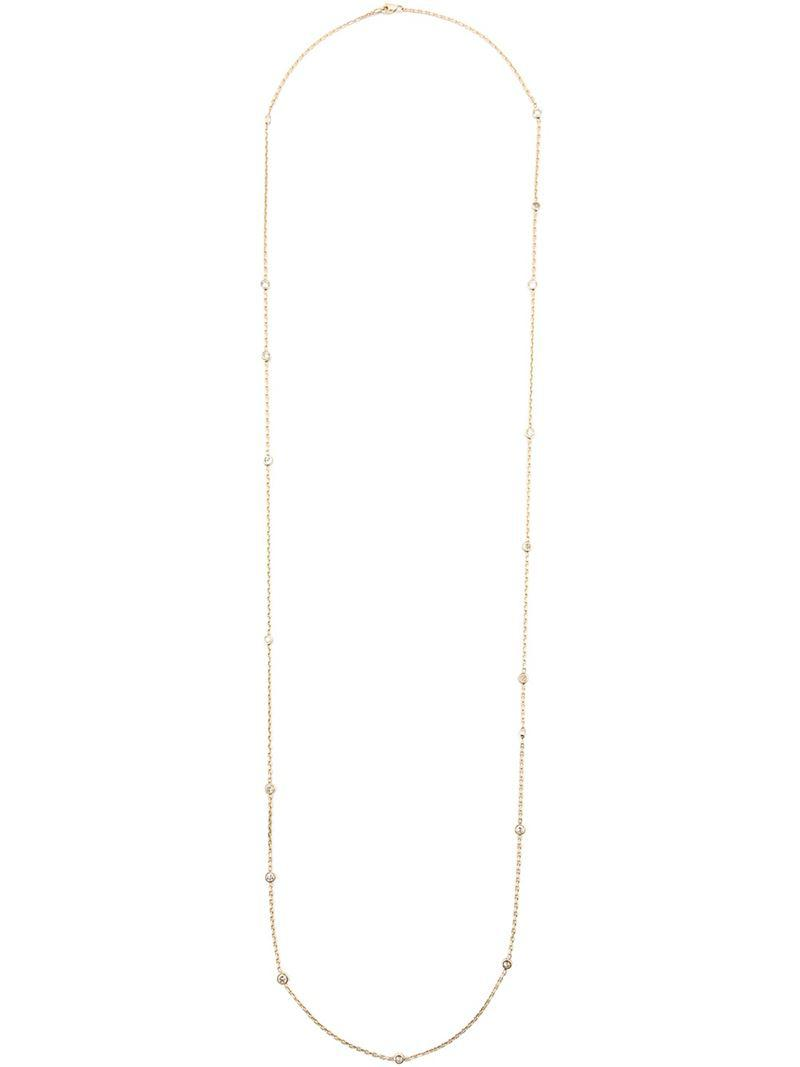 Kristin Hanson Dia by Yard necklace - Metallic ExSoKbs