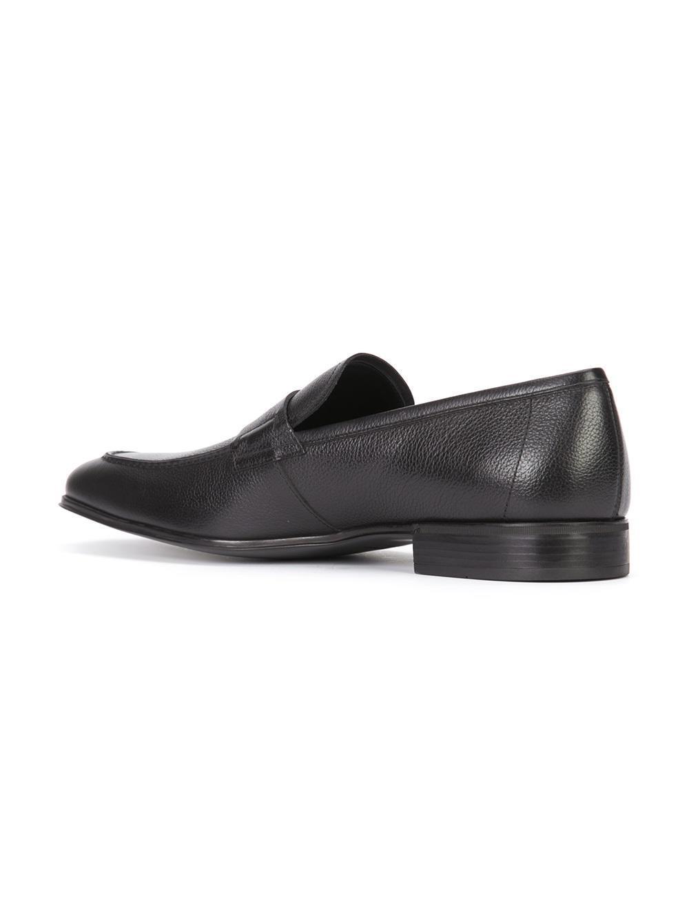 Ferragamo Fiorino Loafers In Black For Men Lyst