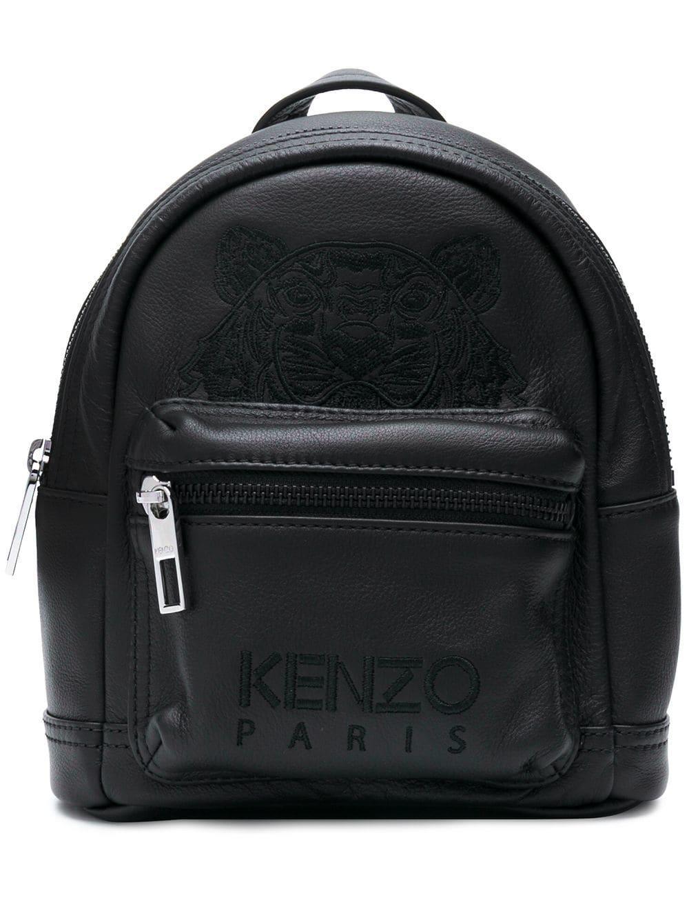 Cuir Mini À Dos Coloris Lyst En Noir Sac Kenzo T1uKc5lFJ3