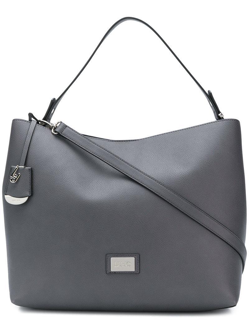 41f9b674d439f Liu Jo Hawaii Tote Bag in Gray - Lyst