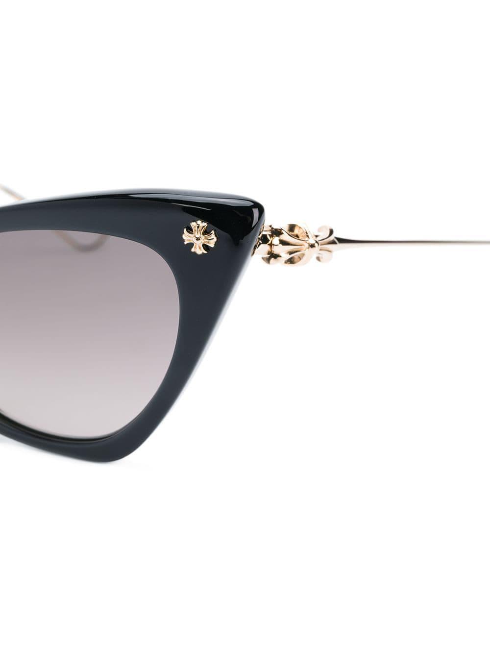 228d0b7c071 Chrome Hearts Bailey Girl Sunglasses in Black - Lyst