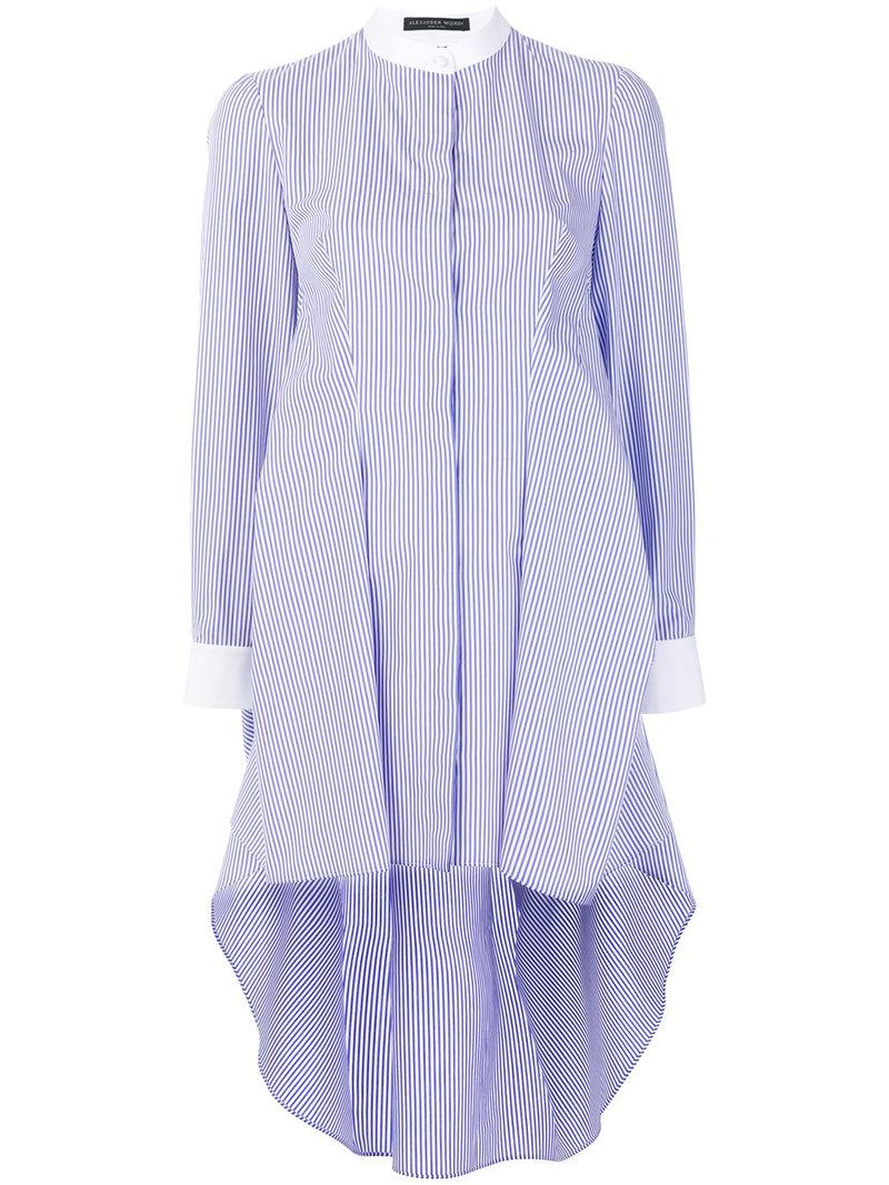 87064d057fa7 alexander-mcqueen-Blue-Striped-Grandad-Shirt-Dress.jpeg