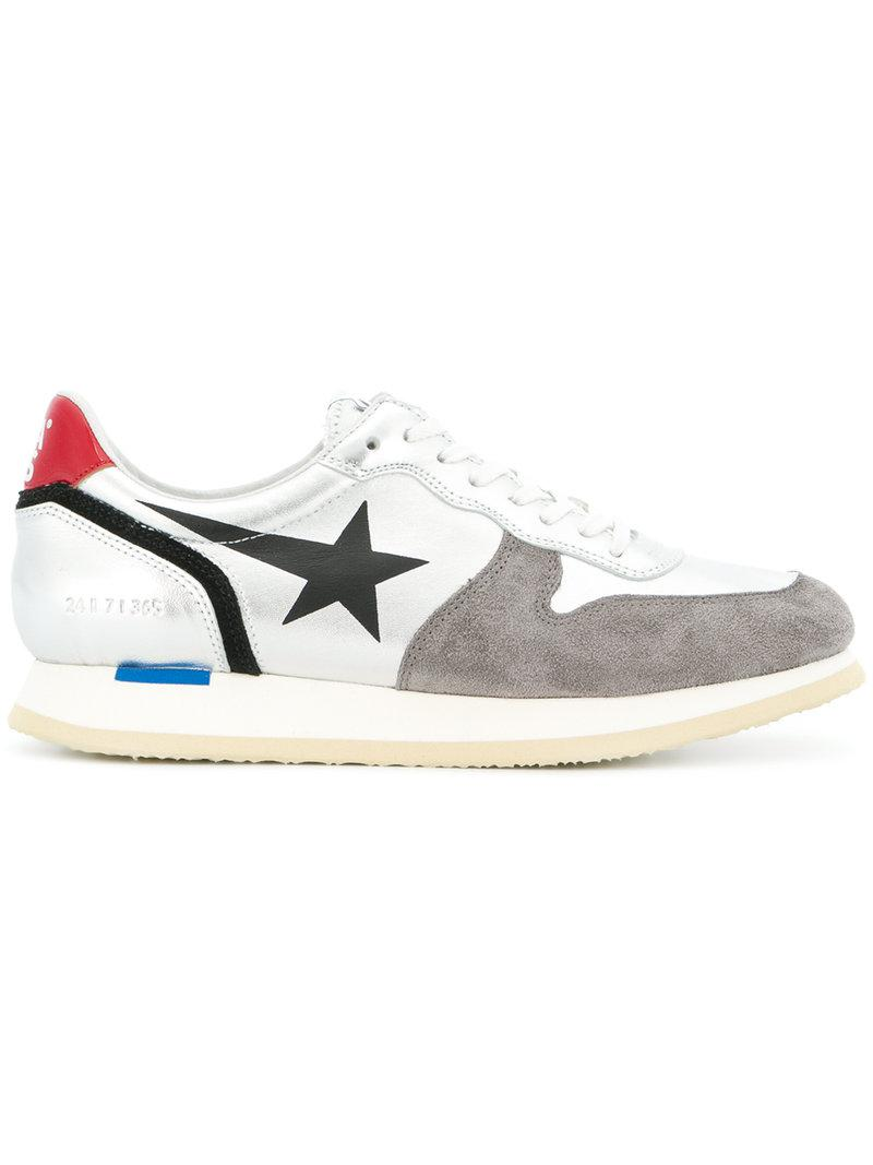 87b0c7e4a8ce Haus By Golden Goose Deluxe Brand Swan Sneakers in Metallic - Lyst