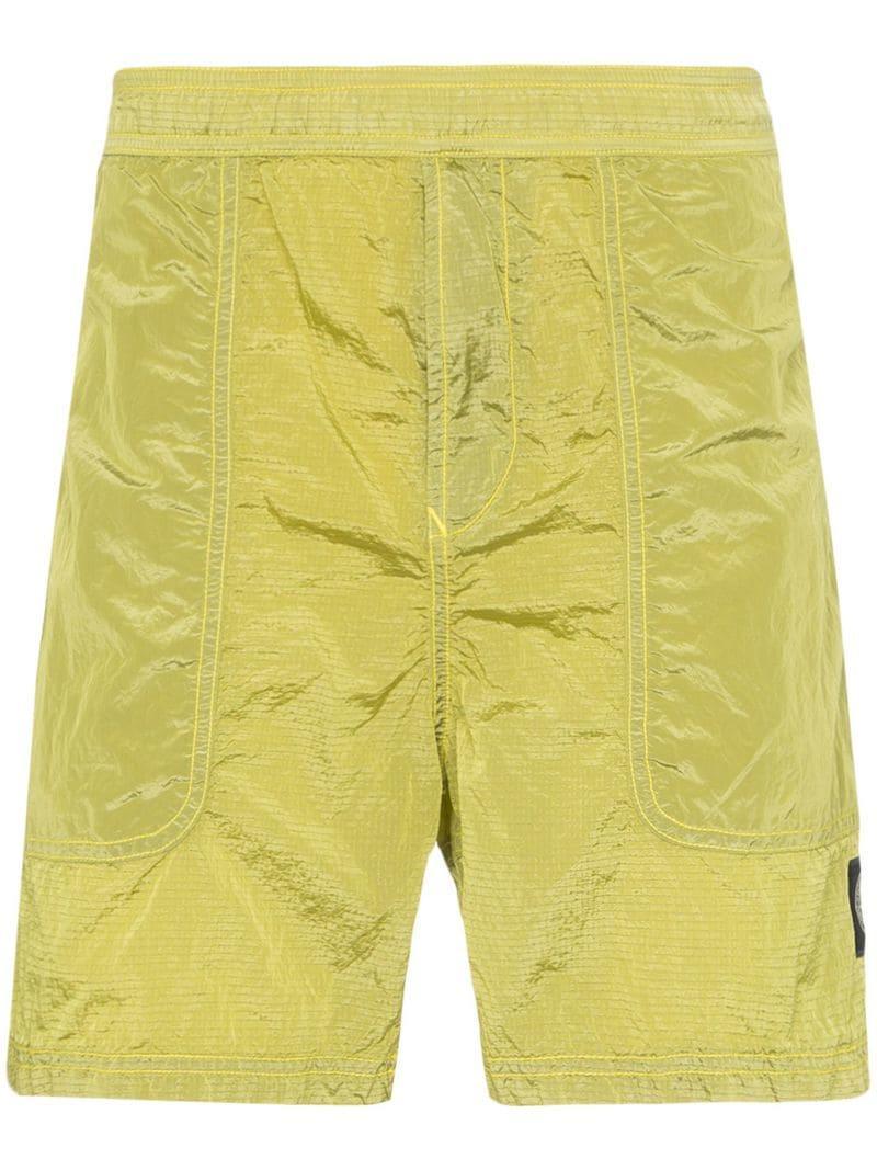 e43c71311fa3f Stone Island Shell Swim Shorts in Green for Men - Lyst