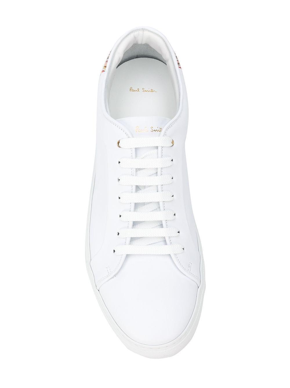 Zapatillas con detalle de rayas Paul Smith de hombre de color Blanco