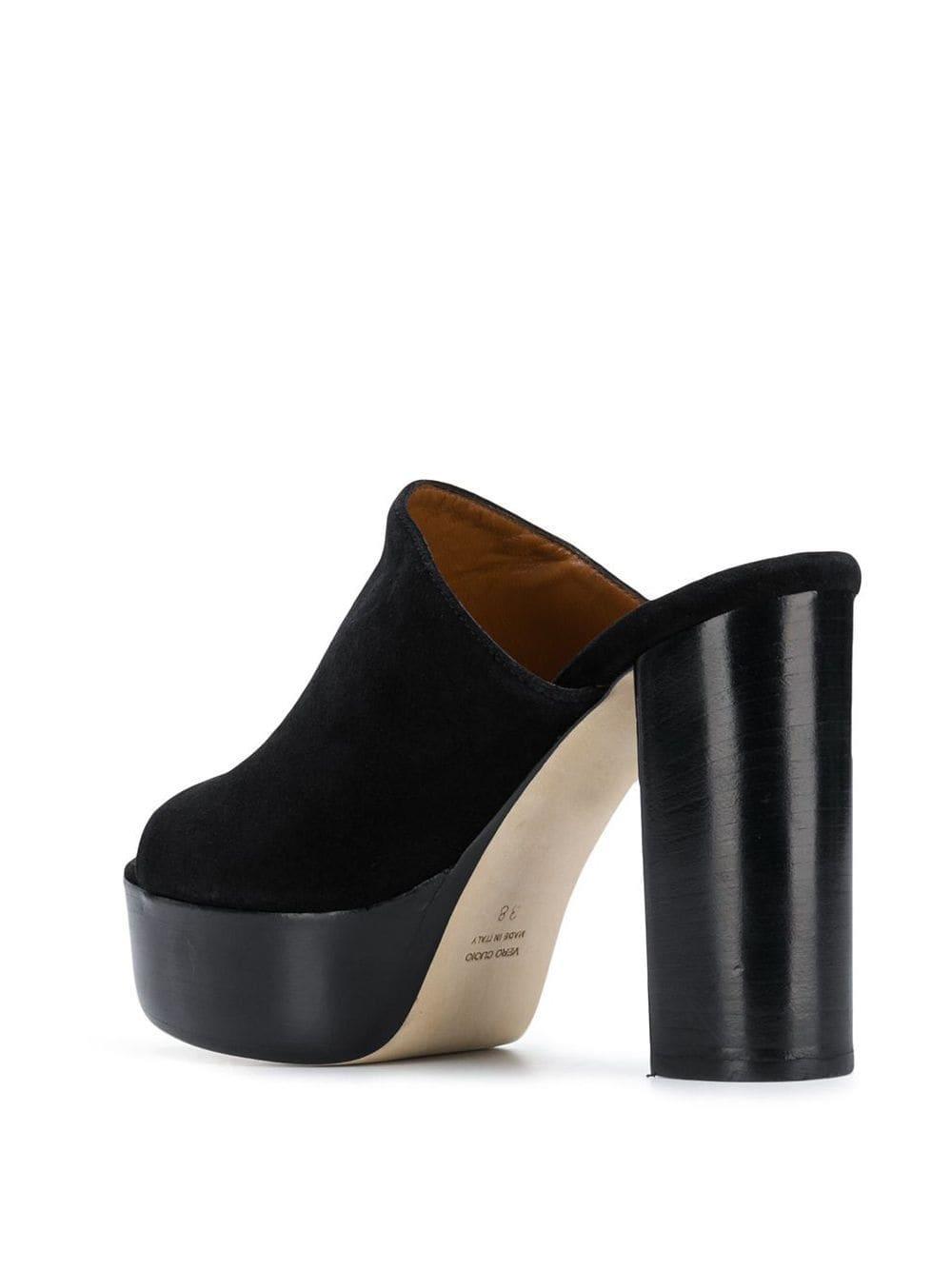 Sandales à plateforme Cuir Paris Texas en coloris Noir