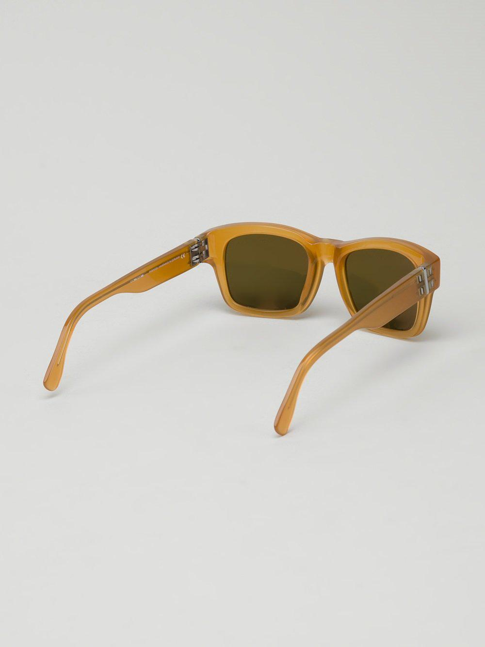 Mykita 'herbie' Sunglasses in Yellow & Orange (Green)