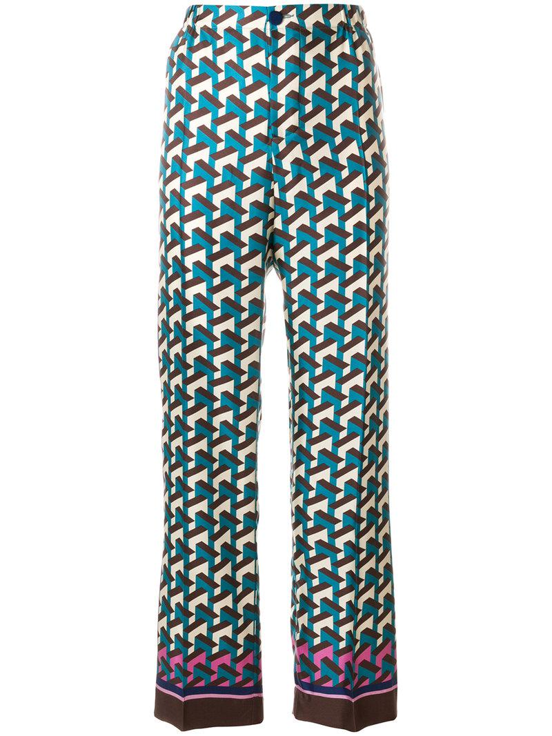 printed trousers - Multicolour F.R.S. For Restless Sleepers O0tC2t