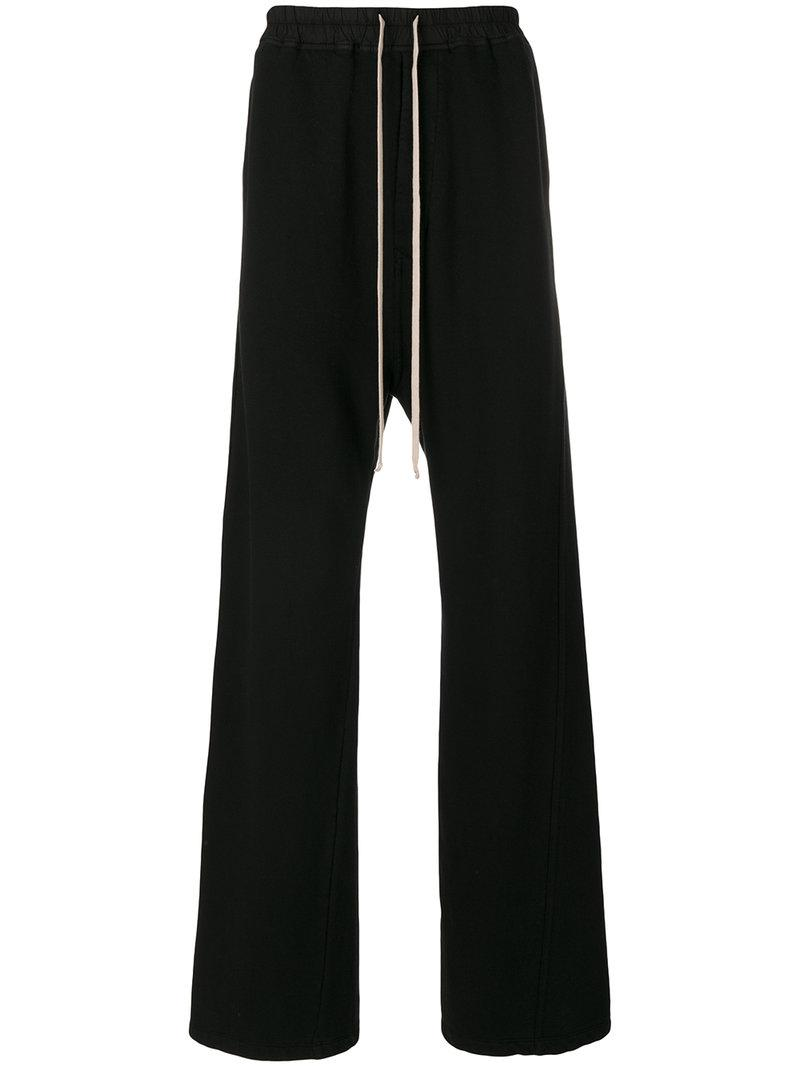 Outlet For Sale Rick Owens DRKSHDW flared track pants Affordable Outlet Fast Delivery QEU2pH2