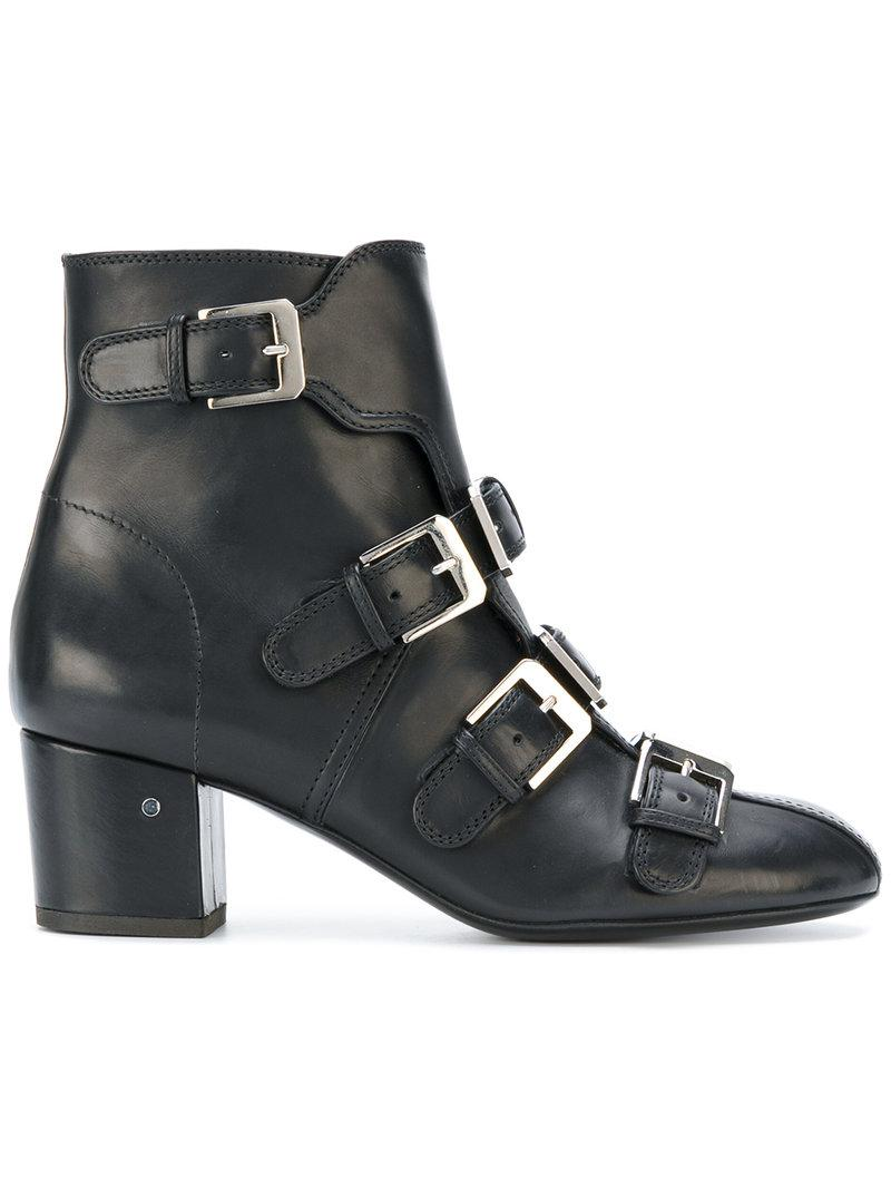Lyst Laurence Dacade Ankle Length Boots In Black