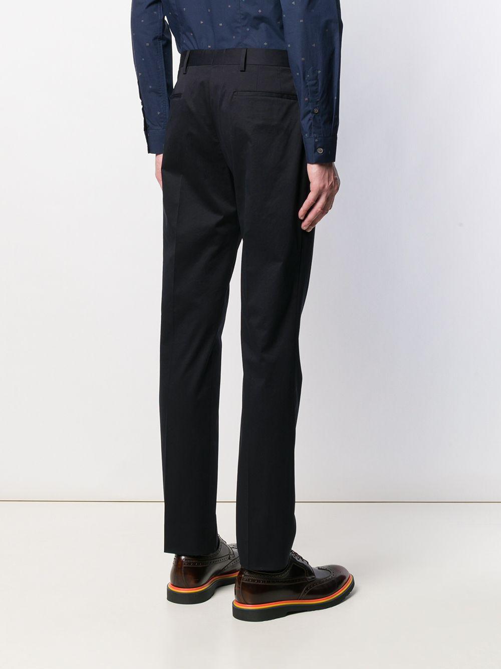 Paul Smith Katoen Chino Pantalon in het Blauw voor heren