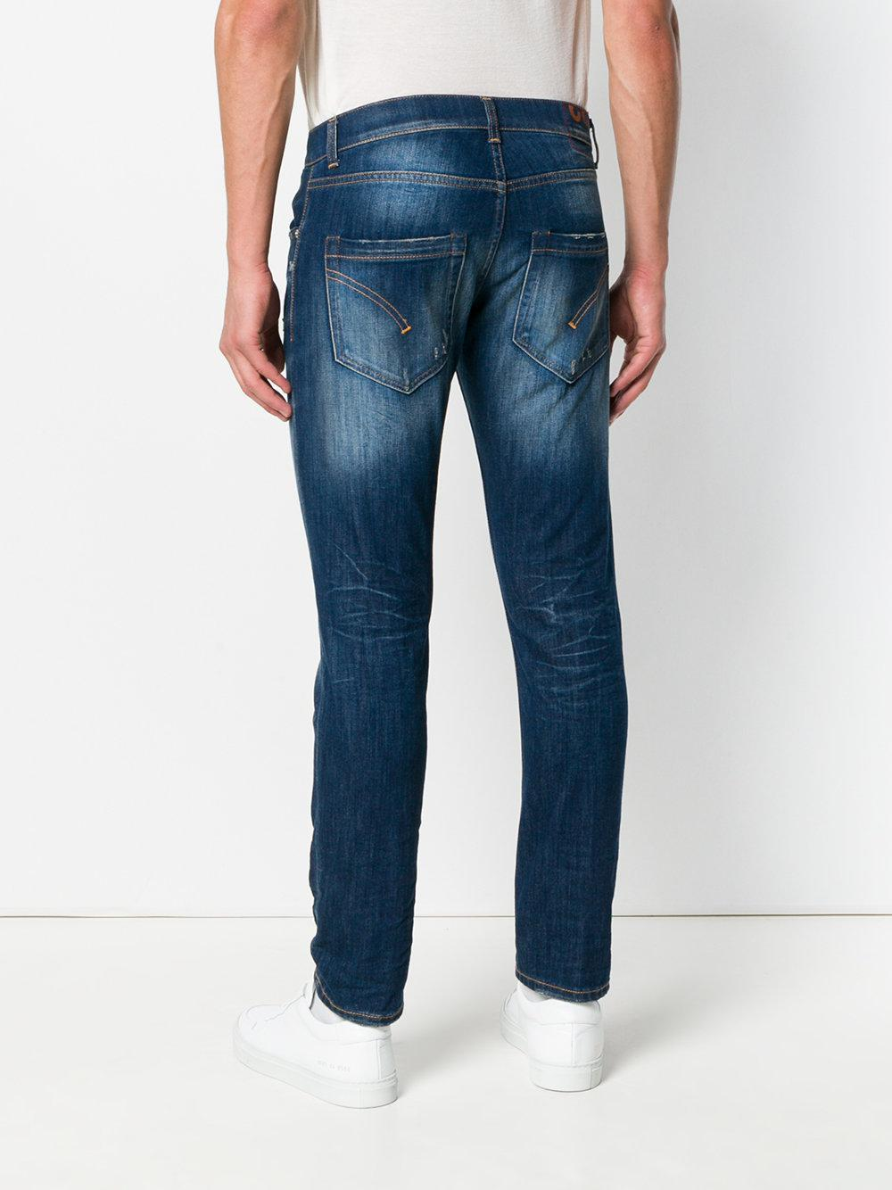 Dondup Denim Mius Slim-fit Jeans in Blue for Men